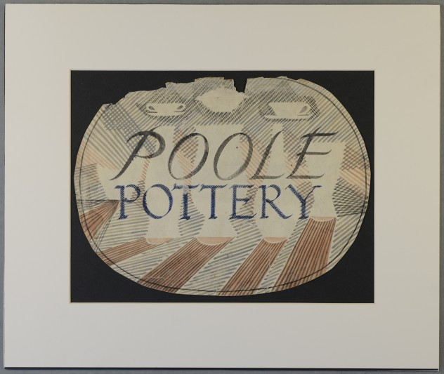Artwork and designs from the Poole Pottery.