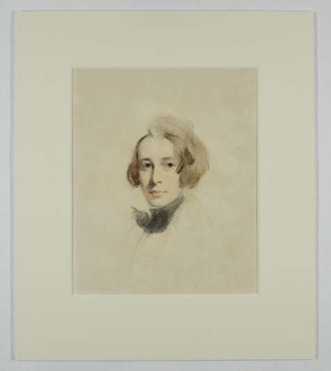Sketch of Charles Dickens by Samuel Laurence, 1837