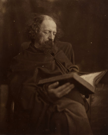 Alfred, Lord Tennyson dressed as 'The Dirty Monk'.